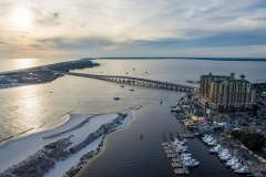 Destin Harbor Drone 2016-5