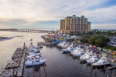Destin Harbor Drone 2016-7