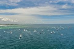 ECBC Boats Leaving Destin