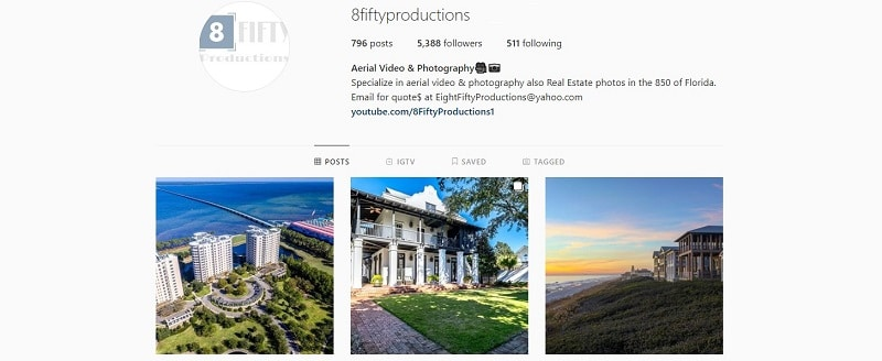8 Fifty Productions Instagram Feed